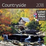 Kalendář nástěnný 2018 - Countryside