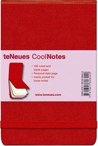 Zápisník CoolNotes Red/Red, Flip Pad