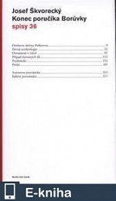 Konec poručíka Borůvky (spisy - svazek 36) (E-KNIHA)