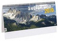 Světem hor 2010 - stolní kalendář