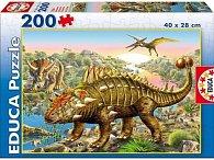 Puzzle Dinosaurus 200 dílků