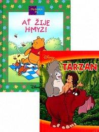 Balíček 2ks Tarzan + Medvídek Pú Ať žije hmyz