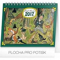 Kalendář stolní 2017 - Josef Lada/V lese