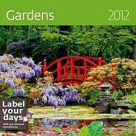 Kalendář nástěnný 2012 - Gardens 300x300