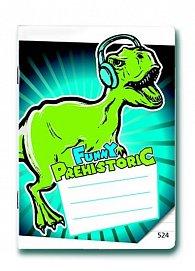 Sešit 524 Prehistoric FUNNY