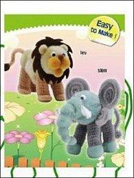 Kreativní svět slon, lev