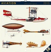 Kalendář 2013 poznámkový - Úsvit letectví Libero Patrignani, 30 x 60 cm