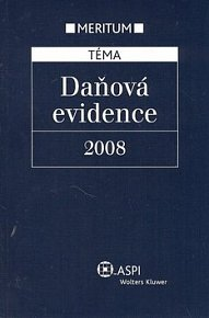 Daňová evidence 2008