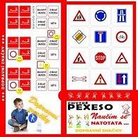 Pexeso Natotata Dopravní značky