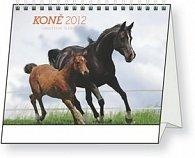 Kalendář stolní  2012 - Koně Christiane Slawik, 16,5 x 13 cm