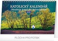 Kalendář stolní 2020 - Katolický, 23,1 × 14,5 cm