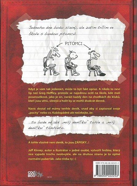 Náhled Deník malého poseroutky