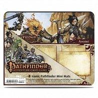 Art: Pathfinder Iconic Characters - 4ks mini  hrací podložky