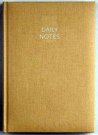 Daily Notes - Arizona denní A5 - stříbrná