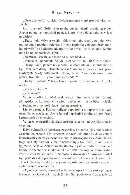 Náhled Kronika Netesaného trůnu I. - Císařovy čepele