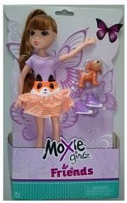 Moxie Girlz Friends - Panenka s mazlíčkem, 3 druhy