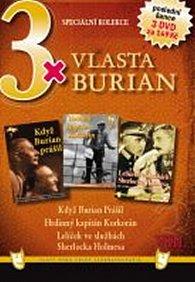 3x DVD - Vlasta Burian VIII.