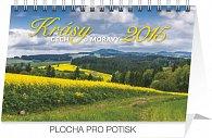Kalendář 2015 - Krásy Čech a Moravy - stolní týdenní
