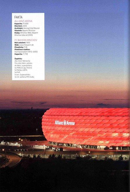 Náhled Fotbalové stadiony - Historie, fakta a příběhy evropských stadionů