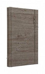 Diář 2015 - Wood hnědý kapesní