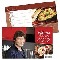 Kalendář stolní 2012 - Vaříme s Jirkou Babicou