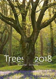Kalendář nástěnný 2018 - Stromy