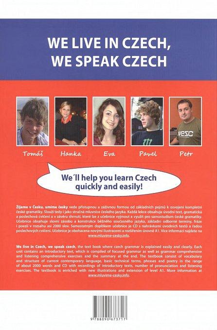 Náhled Žijeme v česku, umíme česky + CD / AJ