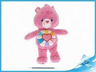Starostlivý medvídek plyšový růžový