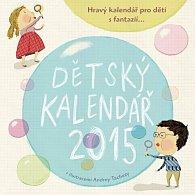 Dětský kalendář 2015 (domalovávací)