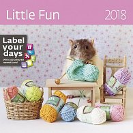 Kalendář nástěnný 2018 - Little Fun