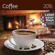Kalendář nástěnný 2016 - Coffee