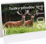 Toulky přírodou 2014 - stolní kalendář