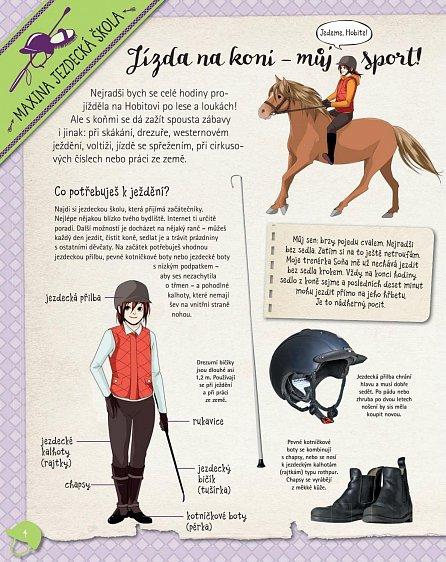 Náhled Koně a jezdectví - Moje oblíbená knížka