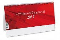 Kalendář stolní 2017 - Poznámkový