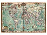 Mapa světa 4000 dílků