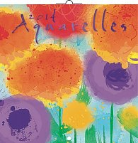 Kalendář 2014 - Akvarely - nástěnný poznámkový (ANG, NĚM, FRA, ITA, ŠPA, HOL)