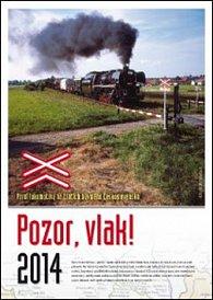 Pozor, vlak! 2014 - nástěnný kalendář