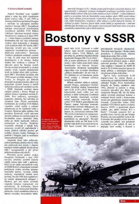 Náhled Bostony v SSSR