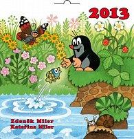 Kalendář 2013 poznámkový - Krteček, 30 x 60 cm