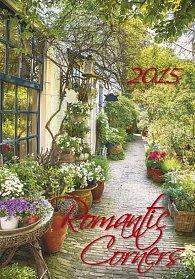 Kalendář nástěnný 2015 - Romantic Corners