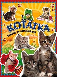 Koťátka – aktivity se samolepkami