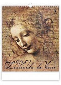 Kalendář nástěnný 2017 - Leonardo da Vinci/Exclusive