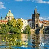 České památky 2017 - nástěnný kalendář