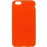 iPhone 6 plus Pixel Case Oranžová