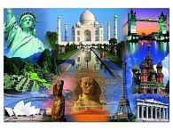 Puzzle Světová kolekce, 3000 dílků