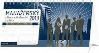 Kalendář 2013 stolní - Manažerský s citáty, 25 x 12,5 cm