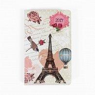 Kapesní diář s Eiffelovou věží