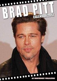 Kalendář 2012 - Brad Pitt