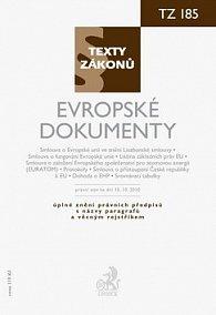 Evropské dokumenty, právní stav k 15.10. 2010