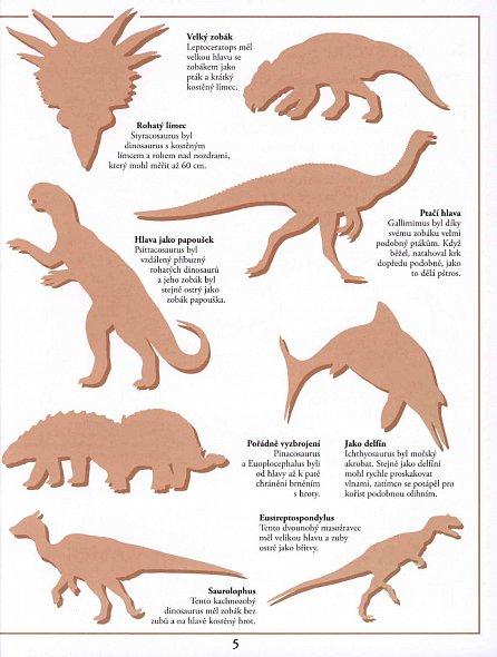 Náhled Dinosauři - Samolepková knížka